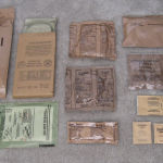 Army rations of 15 countries, main course is meat